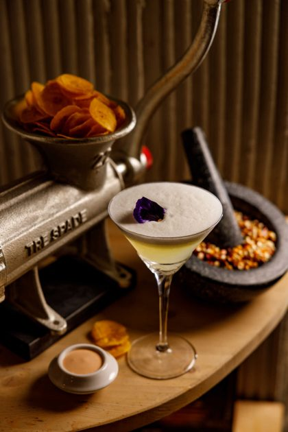 platano e cocktail